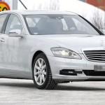 Spy photo: Mercedes Classe S facelift