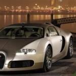Una Bugatti Veyron placcata d'oro