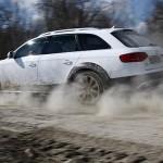 Su strada con:  Audi A4 allroad