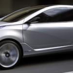 Hyundai Nuvis: l'ibrido ad ala di gabbiano che anticipa la meccanica della nuova Sonata