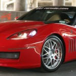 Corvette ZX-1 Supercharged V8 by Karvajal Designs