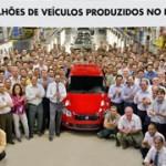 Fiat Brasile festeggia i 10 milioni di veicoli prodotti