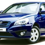 Hyundai Accent restyling