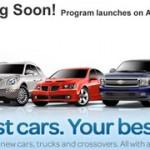 GM e eBay insieme per vendere auto nuove