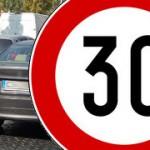 Codice della strada: 30 km/h in città
