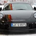 La Porsche 911 spiata e rivelate alcune caratteristiche
