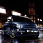 "Un blu ""jeans"" per la Fiat 500"