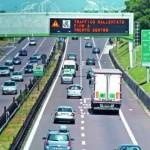 Autostrade in aumento nel 2010