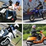 Calo di vendite per moto e scooter