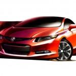 Nuova Honda Civic: modello americano pronto per Detroit 2011