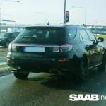 Saab 9-5 Sport Hatch: ultimi collaudi prima del debutto