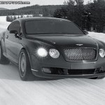Bentley Continental Supersparts Covertible: 330 Km/h sul ghiaccio