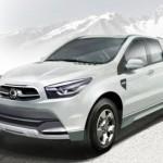 Ssangyong SUT 1: il prototipo di pick-up a Ginevra