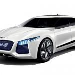 Hyundai Blue2 al Salone di Seoul: fuell cell di lusso