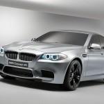 BMW M5 concept car al Salone di Shanghai