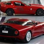 Alfa Romeo Zagato TZ3 Stradale su telaio Dodge Viper ACR