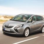 Nuova Opel Zafira Tourer: terza generazione