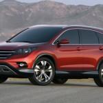 Nuova Honda CR-V concept: prima immagine del prototipo