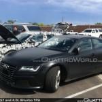 Audi RS7 ed RS6: gli ultimi test, motore 4.0 V8 TFSI biturbo