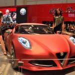Alfa Romeo 4C: a Francoforte un secondo concept con un nuovo look
