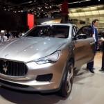 Kubang, Maserati lancia il suo primo SUV
