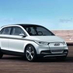 Audi ripensa l'A2: concept elettrico al salone di Francoforte