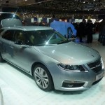 Saab, a Ginevra la nuova 9-5 Combi