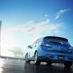 Mazda 3 Faclift, con l'aerodinamica migliorano le prestazioni