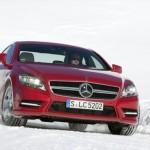 Mercedes CLS, arriva la trazione integrale