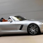 Mercedes SLS Roadster, sinfonia in movimento