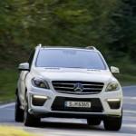 Mercedes svela la nuova ML 63 AMG