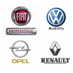 Ecco le citycar dell'anno :  Fiat Panda, Volkswagen UP e Renault Twingo