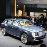 Bentley, in Cina torna il SUV EXP 9 F