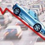 Marzo 2012, crollo del mercato automobilistico