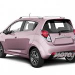 Chevrolet Spark Pink Lady, ideata per tutte le donne