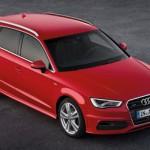 La nuova Audi A 3 in mostra al salone di Parigi 2012