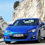 La nuova Subaru BRZ in esposizione all'Australian Motor Show