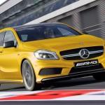 E' pronta al debutto del Salone di Ginevra la Mercedes Classe A45 AMG. (Seconda parte)