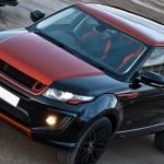Arriva la Range Rover Evoque Vesuvius Edition