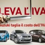 Suzuki, quanti sconti con 'Leva l'Iva'