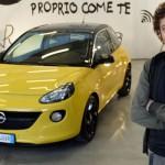 Opel Adam e Valentino Rossi