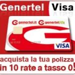 Genertel, polizza a rate con la carta di credito