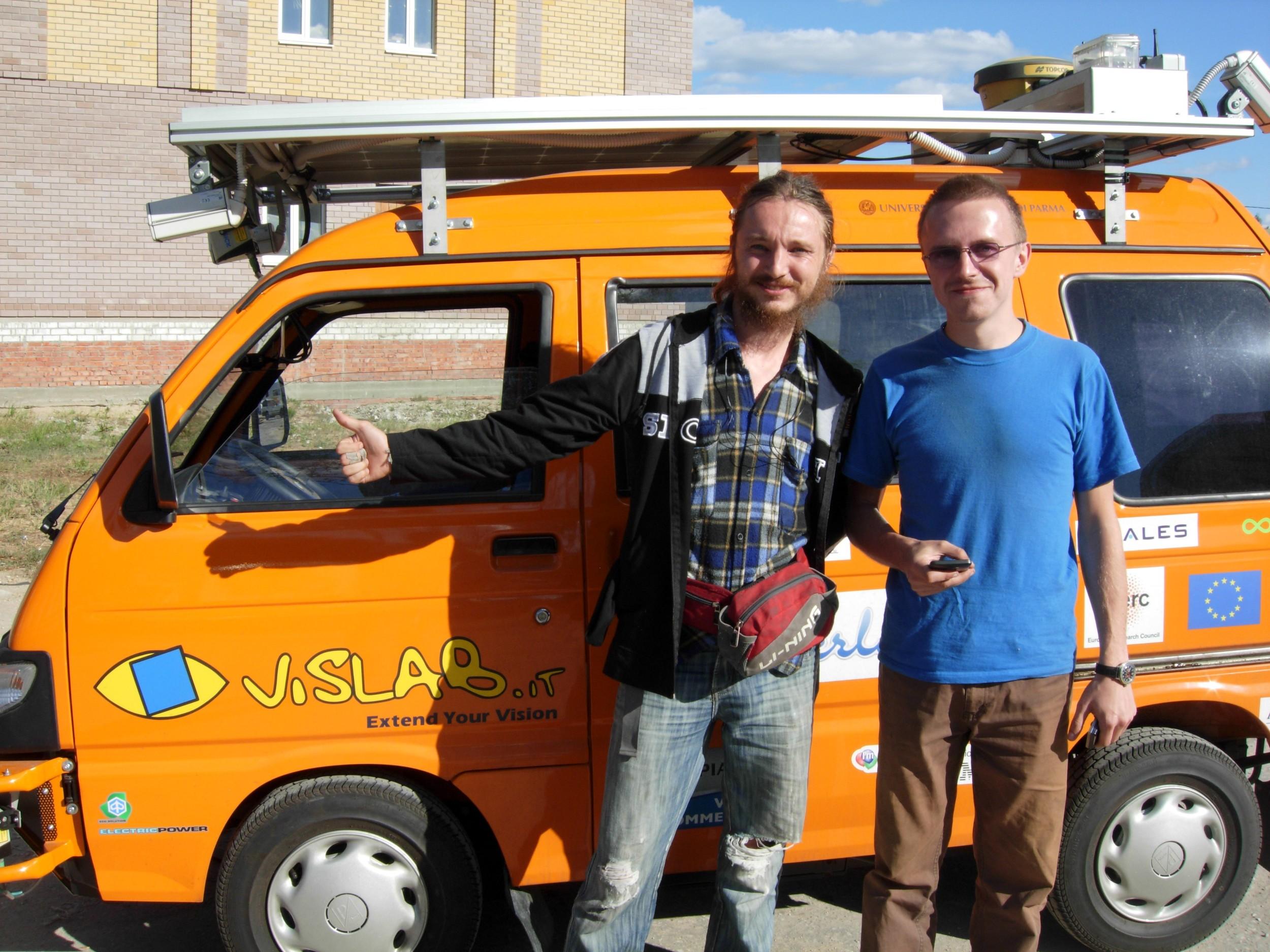 autonomous car di VisLab