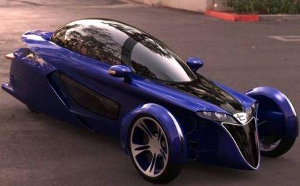 Terracraft, una cabrio a tre ruote