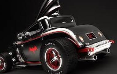 Batmobile hot rod da Mark La Frenais