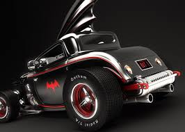 Batmobile hot rod da Mark La Frenais