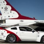 Ford Mustang U.S. Air Force Thunderbirds Edition battuta all'asta