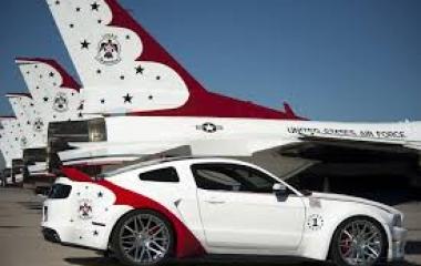 Mustang U.S. Air Force