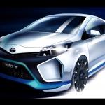 Toyota Yaris Hybrid-R. Prima parte.