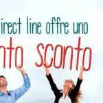 Direct Line, due mesi di sconto sulla Rc Auto